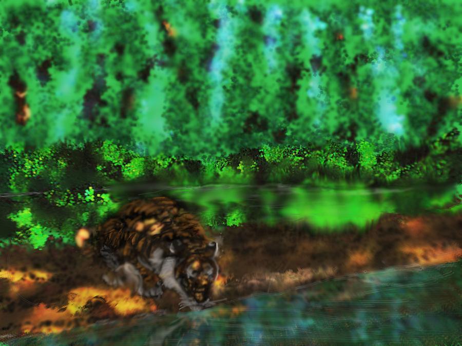Tiger by Robert Rearick