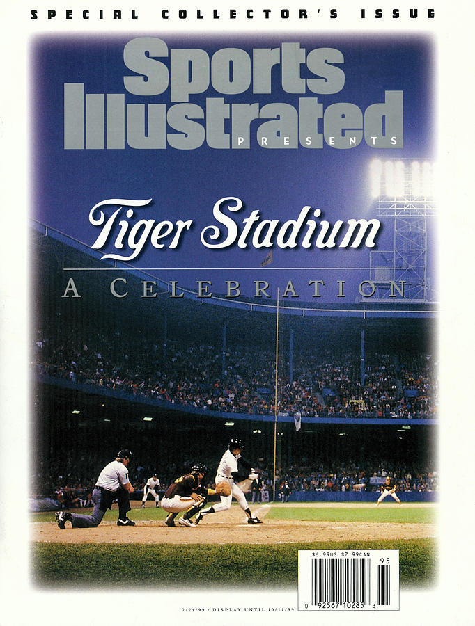 Tiger Stadium A Celebration Sports Illustrated Cover Photograph by Sports Illustrated