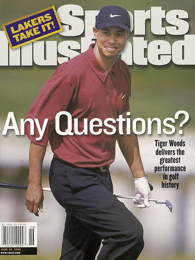 Tiger Woods, 2000 Us Open Sports Illustrated Cover Photograph by Sports Illustrated