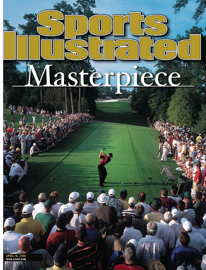 Tiger Woods, 2001 Masters Sports Illustrated Cover Photograph by Sports Illustrated