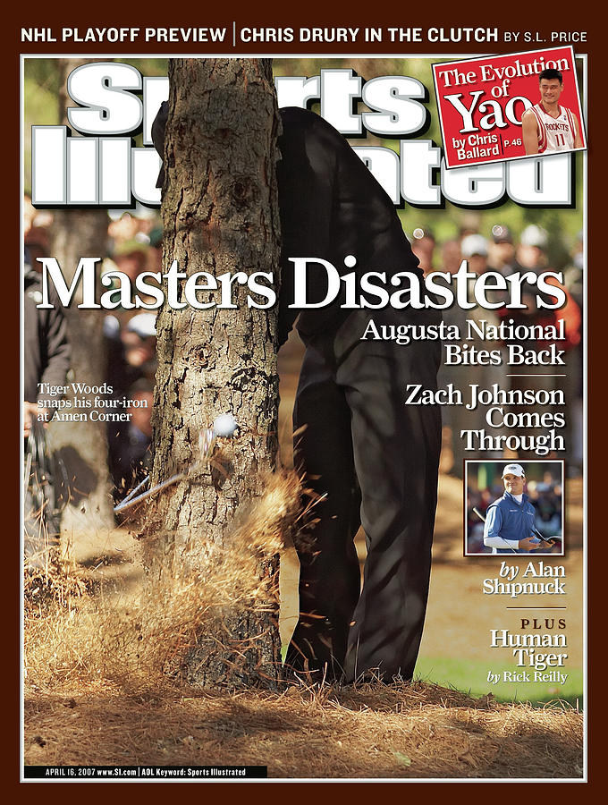 Tiger Woods, 2007 Masters Sports Illustrated Cover Photograph by Sports Illustrated