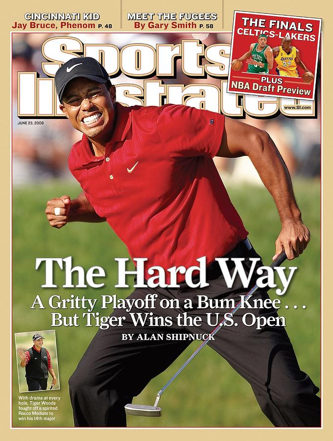 Tiger Woods, 2008 Us Open Sports Illustrated Cover Photograph by Sports Illustrated