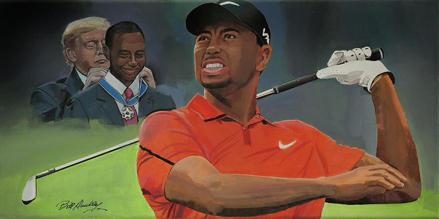 Tiger Woods by Bill Dunkley