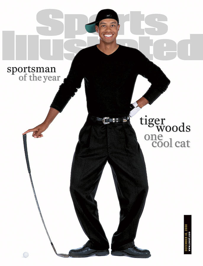Tiger Woods Sports Illustrated Cover Photograph by Sports Illustrated