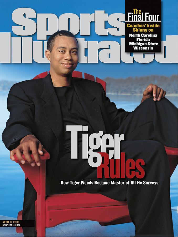 Tiger Woods, Golf Sports Illustrated Cover Photograph by Sports Illustrated