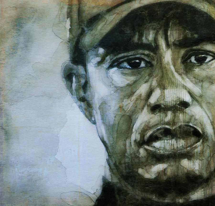 Tiger Woods Painting - Tiger Woods - On The Road Again  by Paul Lovering