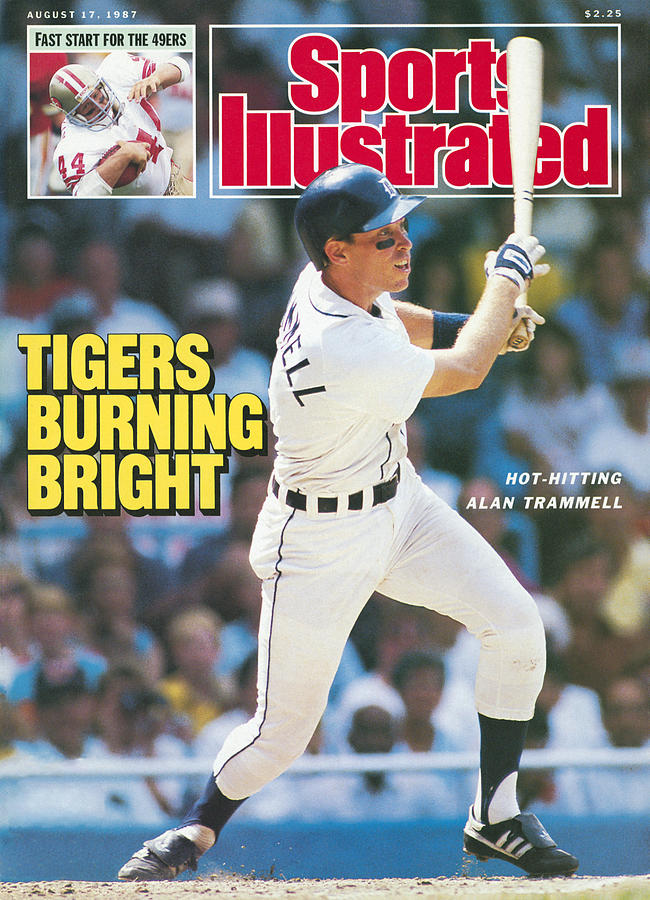 Tigers Burning Bright Sports Illustrated Cover Photograph by Sports Illustrated