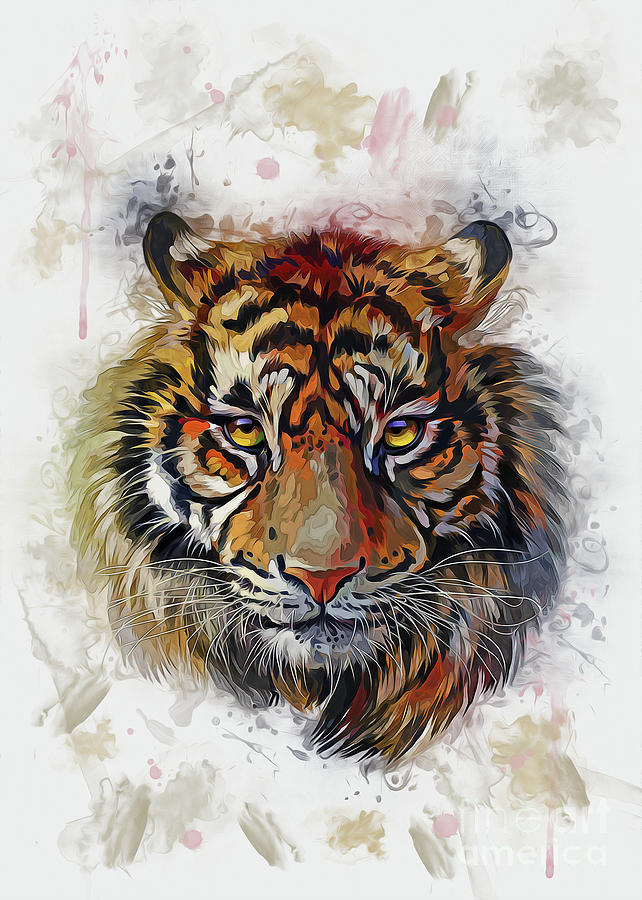 Tigers Eyes by Ian Mitchell