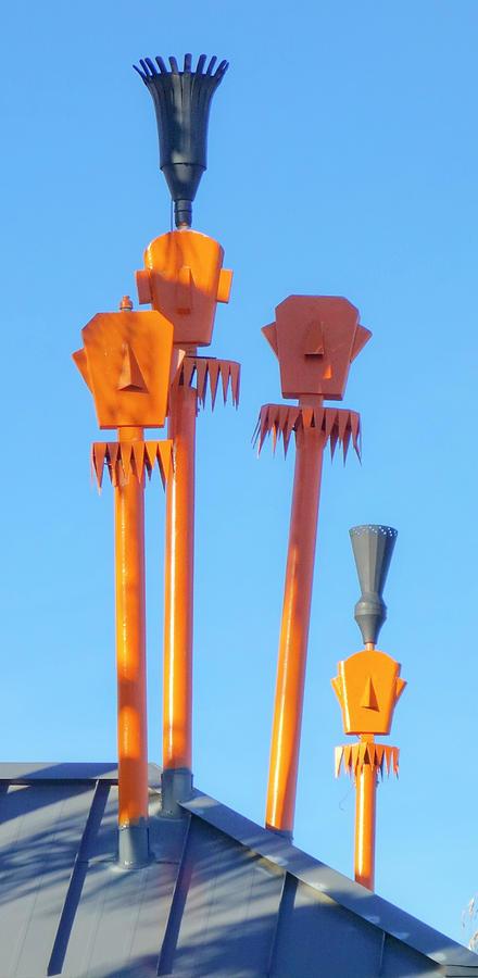 Tiki Palm Springs by Matthew Bamberg