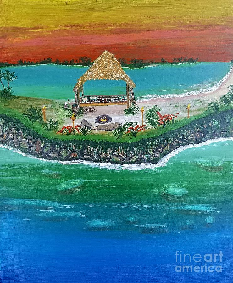 Tiki spirit by Troy Jones