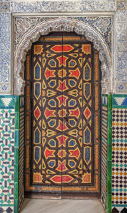 Tiled Door of Sevilla by David Letts