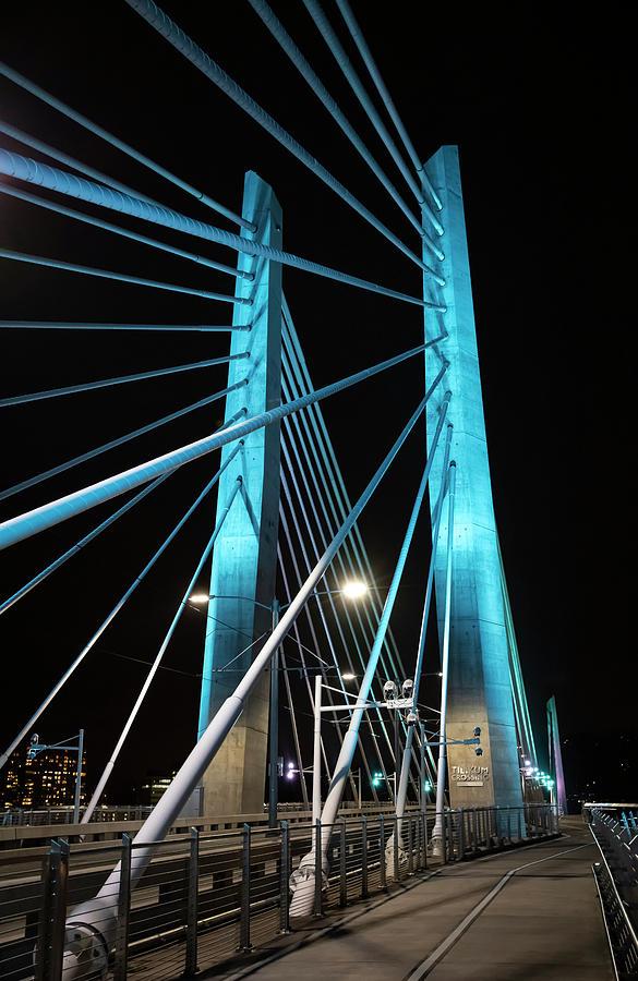 Tilikum Bridge by Steven Clark