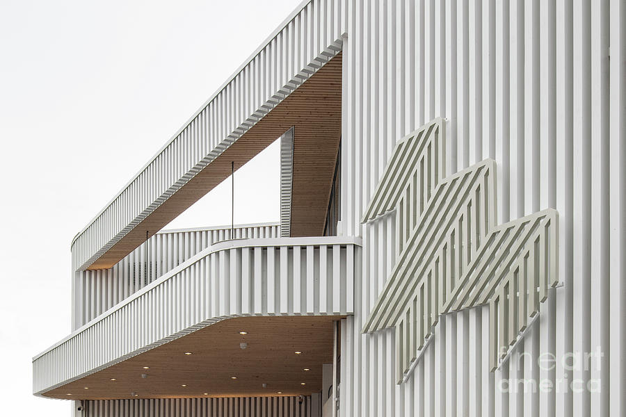 Architecture Photograph - Wood by Tapio Koivula