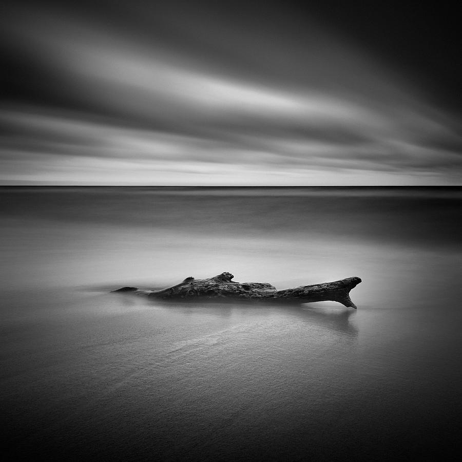 Waterscape Photograph - Time And Tide by Przemys?aw Wielicki