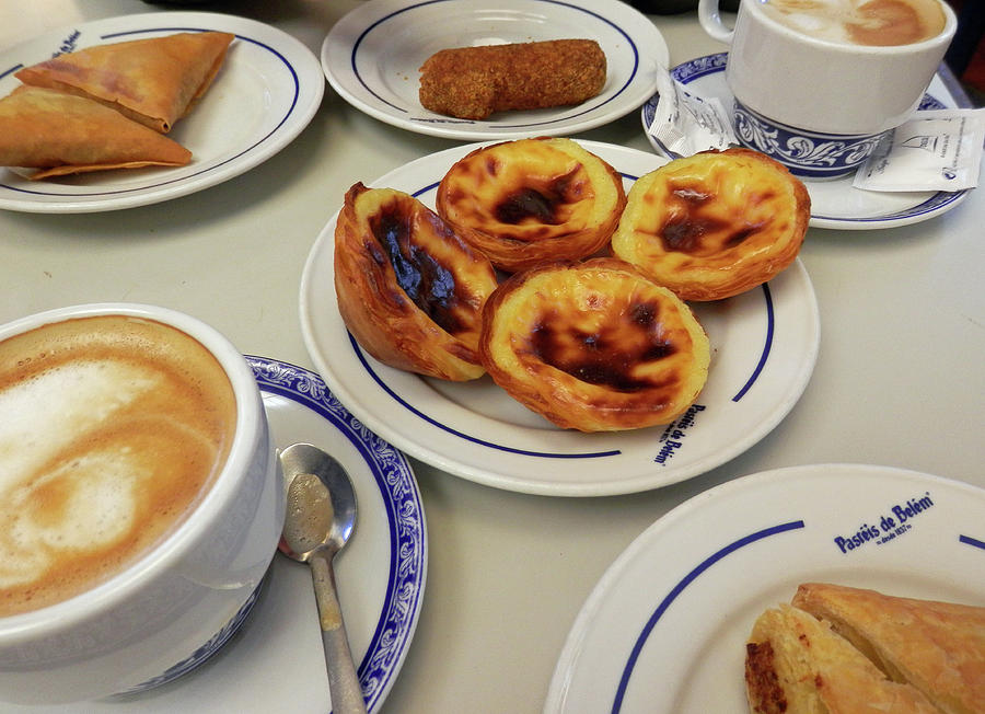 Time for Portuguese Tarts by Pema Hou
