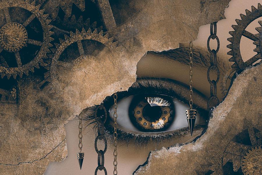 Time Glance Digital Art