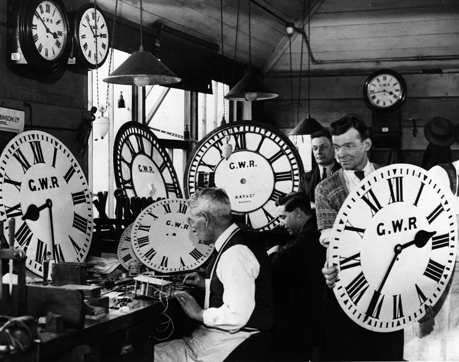 Time Keepers Photograph by Harry Todd