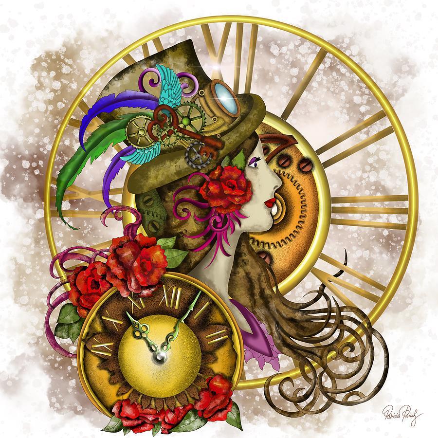 Time Lady Steampunk by Patricia Piotrak