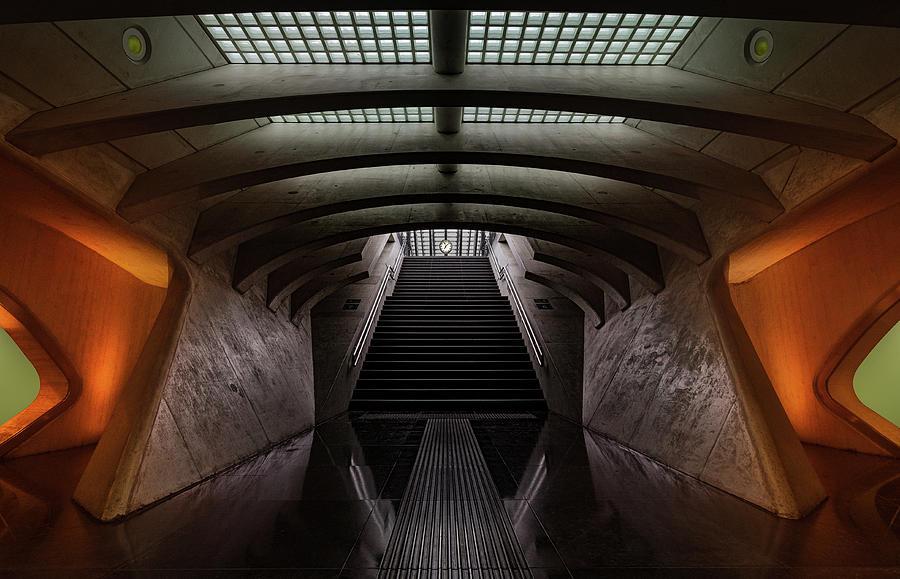 Calatrava Photograph - Time Machine by Michiel Hageman