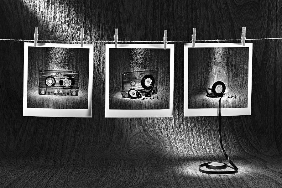 Tape Photograph - Time Passing by Ruben Perez (fris)