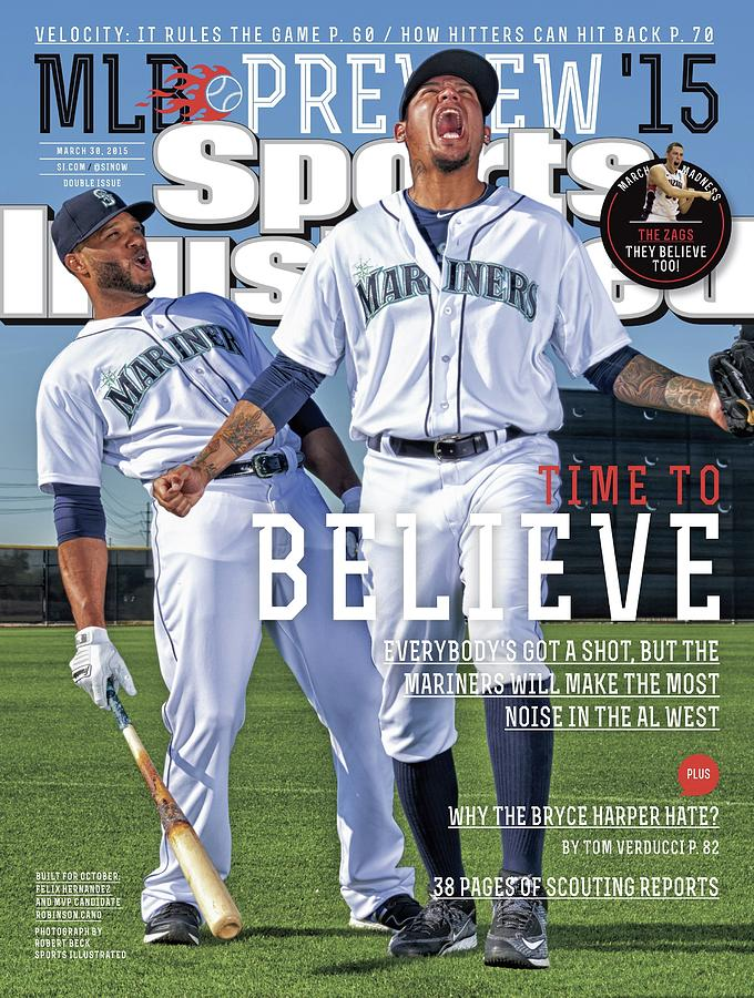Time To Believe 2015 Mlb Baseball Preview Issue Sports Illustrated Cover Photograph by Sports Illustrated