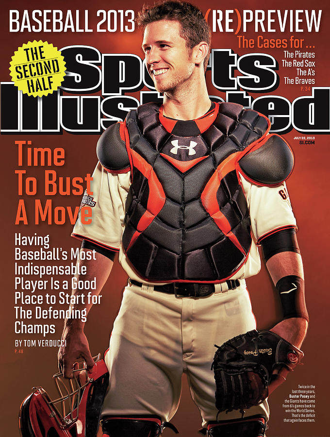 Time To Bust A Move Baseball 2013 repreview Sports Illustrated Cover Photograph by Sports Illustrated
