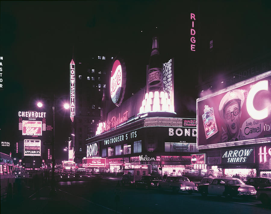 Times Square Photograph by Archive Photos