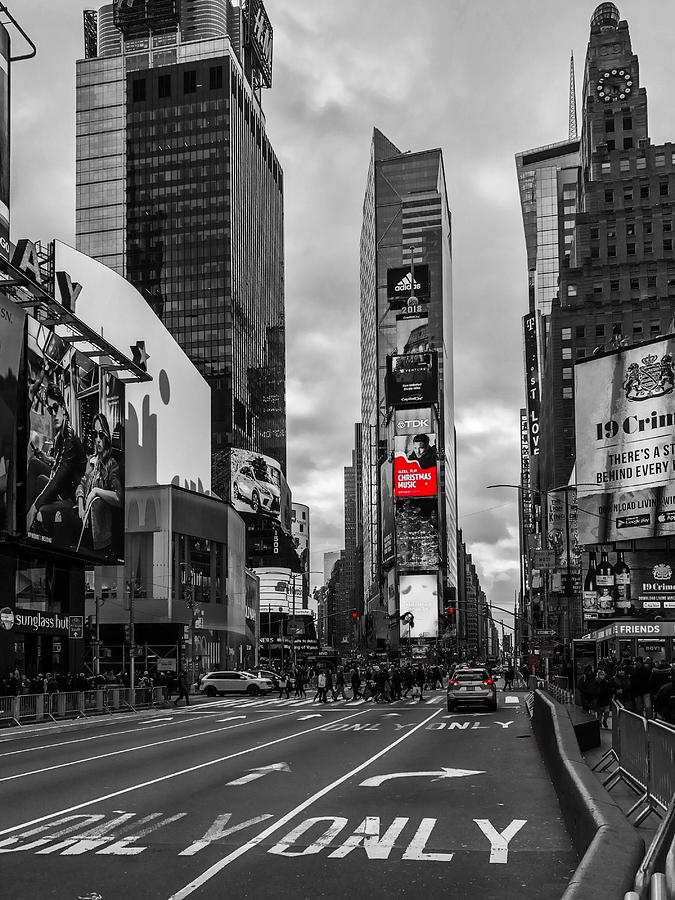 Times Square by Chris Montcalmo