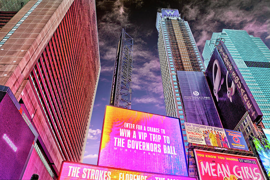 Times Square Lights by Kay Brewer