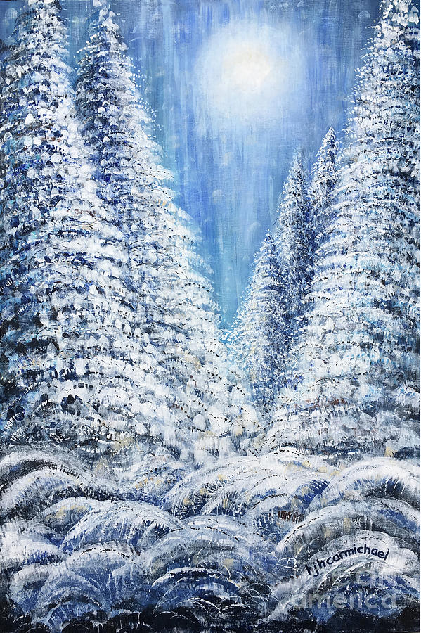 Tim's Winter Forest 2 by Holly Carmichael