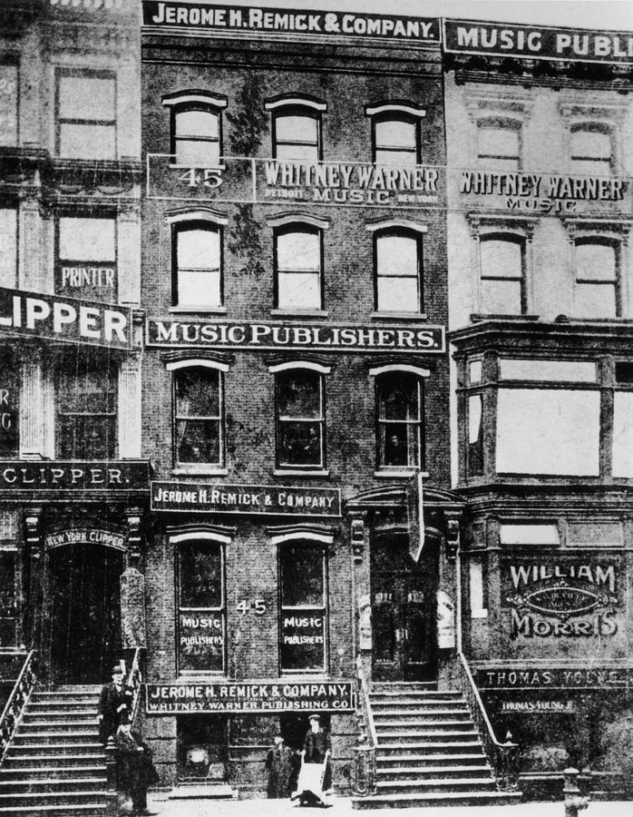 Tin Pan Alley Photograph by Hulton Archive
