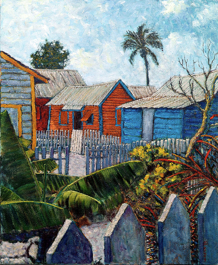 Tin Roofs And Clapboard by Ritchie Eyma