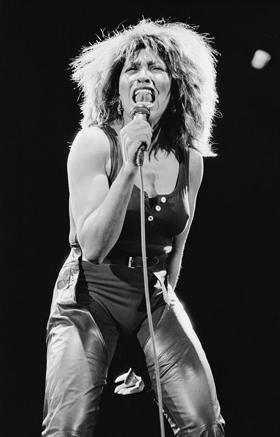 Tina Turner Photograph by Fin Costello