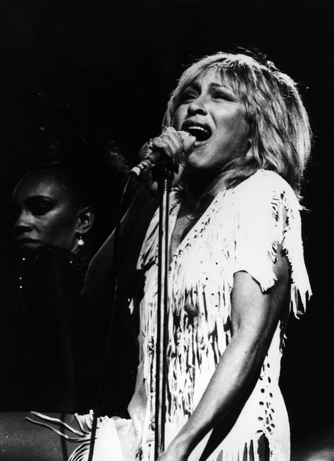 Tina Turner Photograph by Keystone