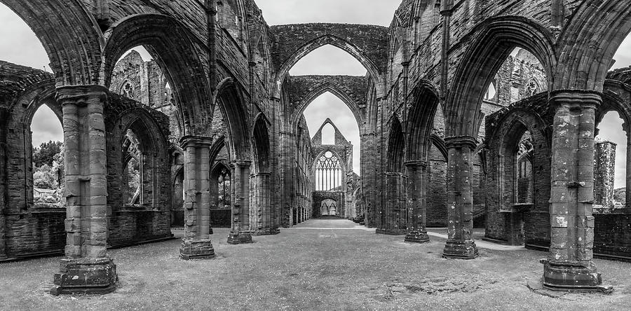 Tintern Abbey Wales UK  by John McGraw