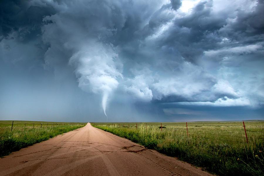 Tornado Photograph - Tiny Dancer by Brian Gustafson
