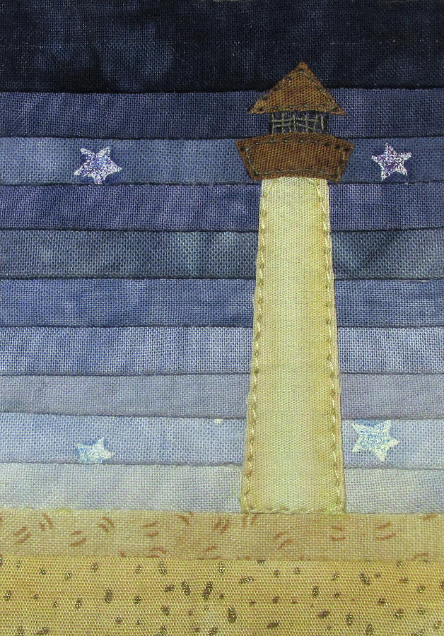 Tiny Lighthouse by Pam Geisel