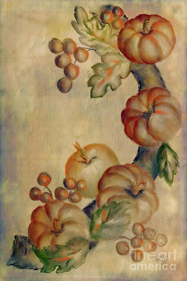 Tiny Pumpkins by Lois Bryan