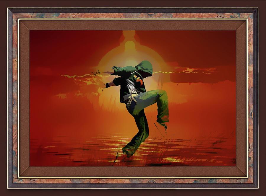Tip Toe Dancer by Clive Littin