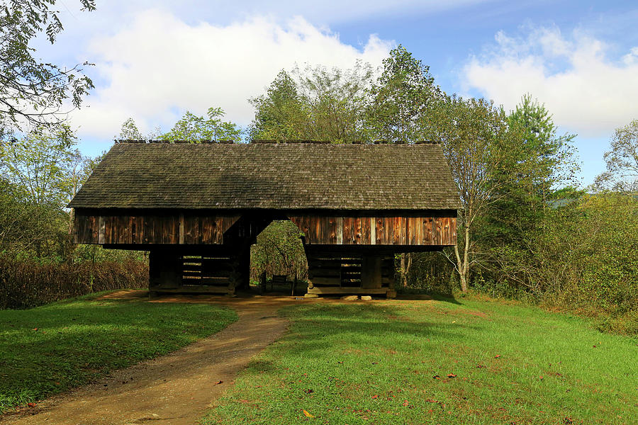 Tipton Barn Cades Cove Photograph