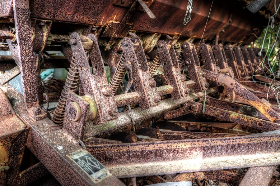 Tired and Rusty by Brian Cole