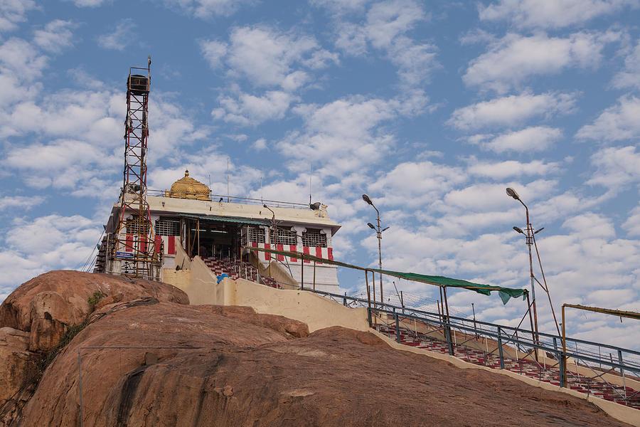 Tiruchirappalli, Rockfort Temple by Maria Heyens