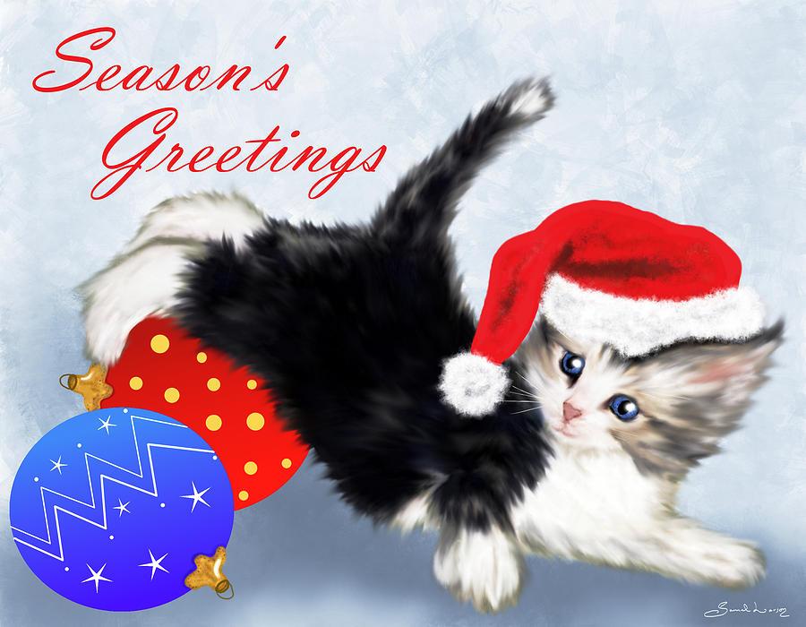 Tis the season to be jolly Fa-la-la-la-la, la-la-la-la  by Sannel Larson