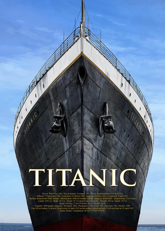 Titanic Poster by Andrea Gatti