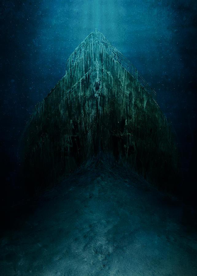 Titanic Wreck by Andrea Gatti