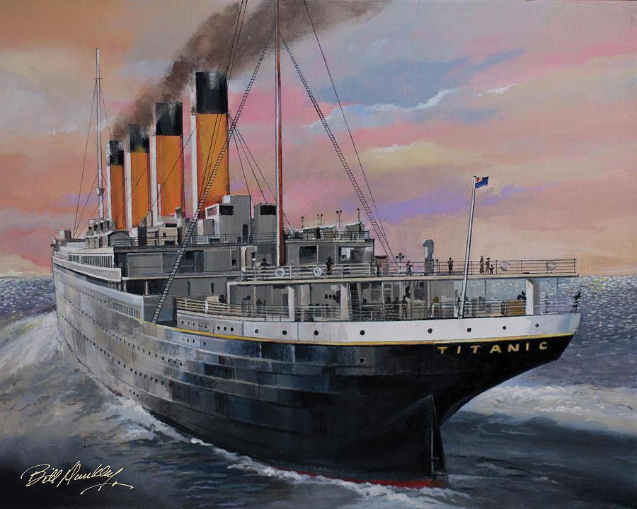 Titanic's Final Voyage by Bill Dunkley