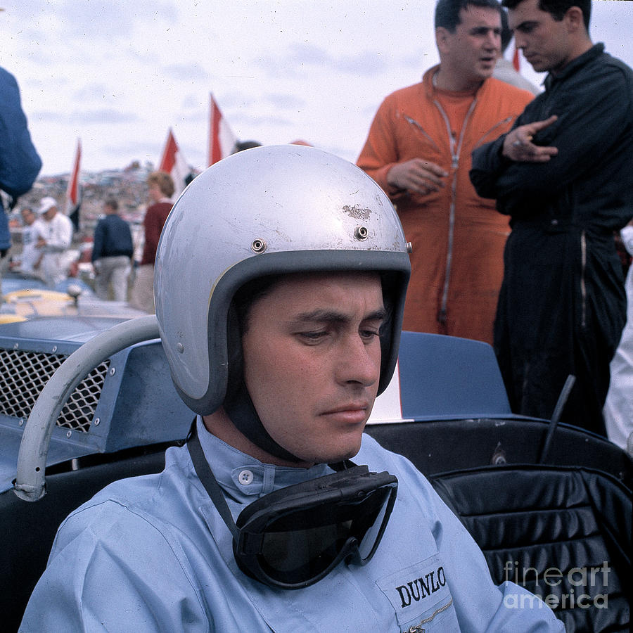 Roger Penske On Pre-grid by Robert K Blaisdell