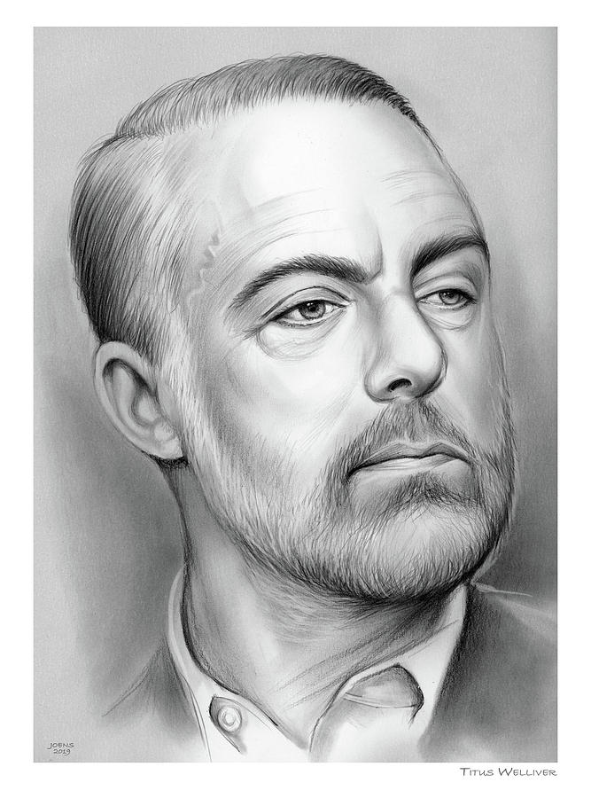 Titus B. Welliver Drawing