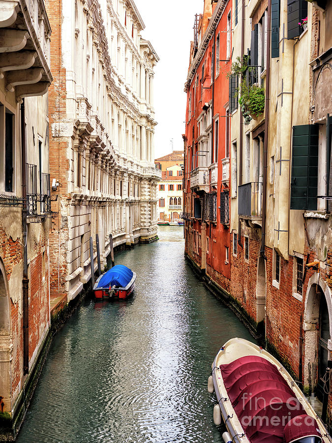 To the End of the Canal in Venice by John Rizzuto