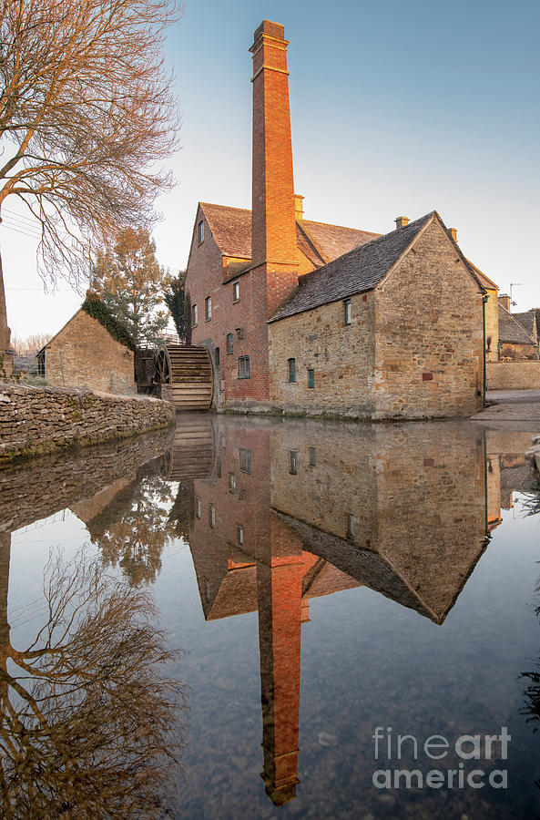 Lower Slaughter Photograph - To The Mill by Tim Gainey